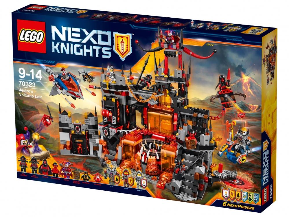 Конструктор Lego Nexo Knights 70323 Логово Джестро конструктор lego nexo логово джестро 1188 элементов 70323