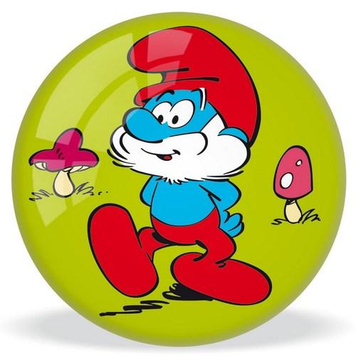 Мяч Mondo Смурфы, 11смМяч Смурфы украшен изображением веселых Смурфиков и изготовлен из высококачественных материалов. Игра с мячом прекрасно развивает координацию движения, моторику рук и ног, а, кроме того, просто приносит множество веселых мгновений. Любой малыш порадуется такому стильному подарку!<br>