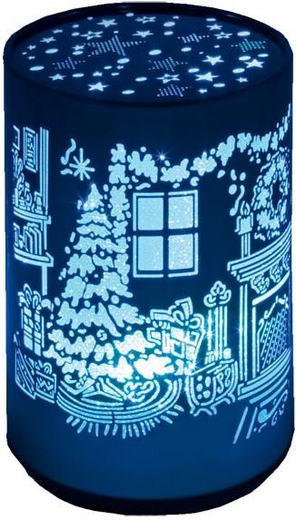 Светильник Старт NL 1LED Новый годСветильник включается в розетку, на корпусе имеется удобный выключатель в виде кнопки. Ночник излучает мягкий свет, который не мешает во время сна. В качестве источника света используется светодиод с продолжительным сроком службы<br>