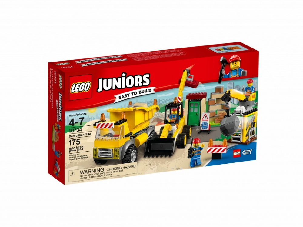 """Купить со скидкой Конструктор Lego Juniors """"Стройплощадка"""""""