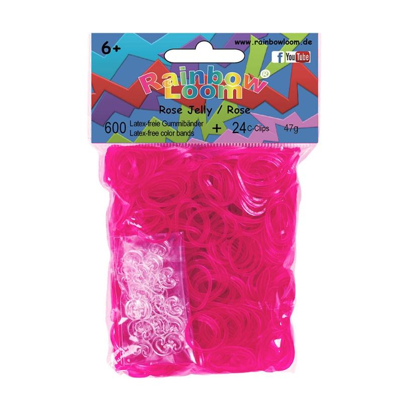 Купить Гелевые резиночки - Розовые