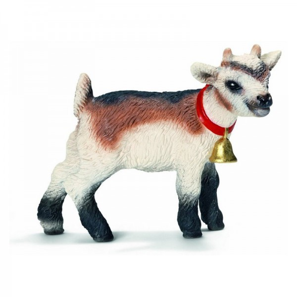 Домашняя коза, детенышФигурка из серии Farm World Детеныш домашней козы от немецкого производителя Schleich станет отличным дополнением к любой игрушечной коллекции животных. Несмотря на малые размеры, игрушка выполнена предельно точно, с учетом мельчайших деталей. С ее помощью можно без труда донести ребенку всю информацию о внешнем виде и образе жизни, а также – пользе этих животных. Фигурка станет отличным подарком для детей в возрасте от трех лет.<br>