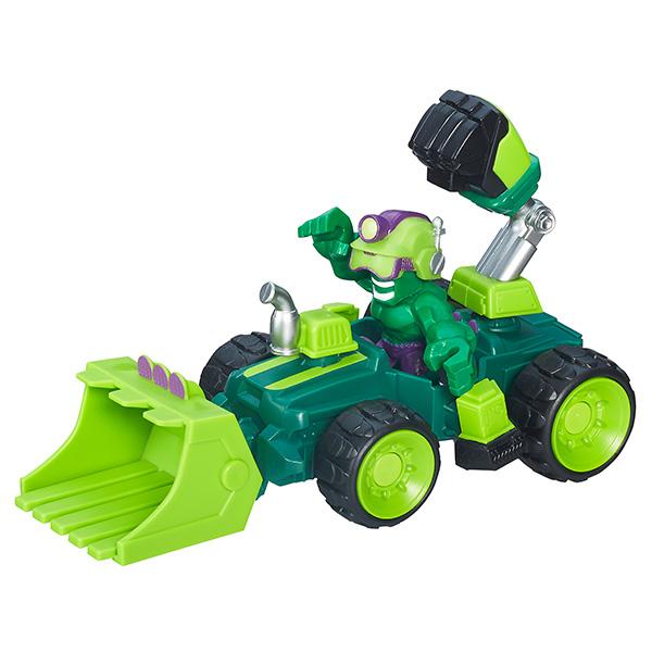 НАБОР МИКРО ФИГУРКА + МАШИНКАЭтот игровой набор, непременно, порадует юных поклонников вселенной супергероев Марвел. В комплект набора входит разборная микрофигурка героя из серии super heroes mashers micro, а также его транспортное средство, которое также собирается из нескольких элементов. Среди супергероев Вы можете найти Халка, Спайдер-мена, Железного Человека, Капитана Америку и Черную пантеру.Игрушки упакованы в красочные коробки блистерного типа. Игровой набор представлен в ассортименте, каждый из супергероев продается отдельно, цена указана за один набор. При заказе игрушек на сайте, выбранный вариант набора в поставке не гарантирован.Рекомендована для детей от 4 лет (содержит мелкие детали).<br>