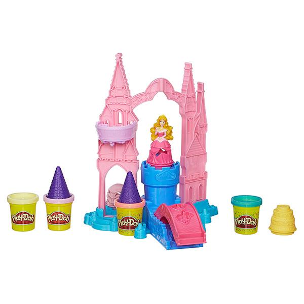 PLAY-DOH. Набор Чудесный замок Авроры play doh игровой набор праздничный торт