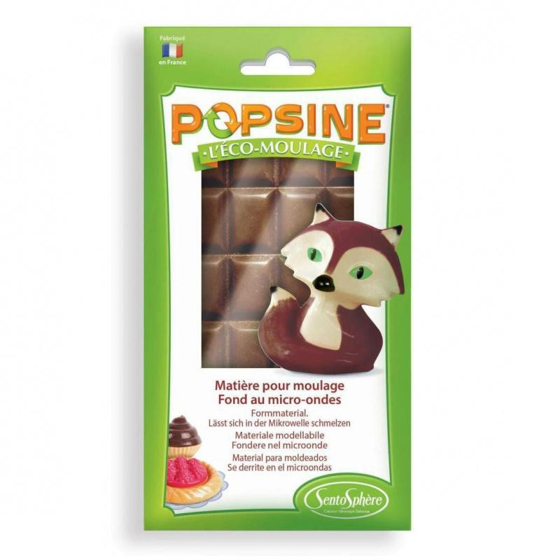 Дополнительный набор для творчества POPSINE 110 г, черный шоколад наборы для лепки sentosphere дополнительный набор для творчества popsine 110 г