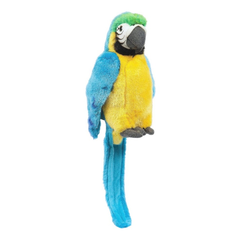 Игрушка плюшевая Синий ПопугайHamleys Blue Parrot красивая мягкая птица. Подходит как аксессуар для пиратского костюма, так и является частью коллекции зверей от Hamleys.<br>
