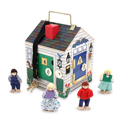 Набор  Создай свой мир дом с замкамиЕсли вы хотите удивить ребёнка не просто красивым подарком, а ещё и ярким изделием, которое научит его различать форму и цвет, то этот домик станет идеальным вариантом для подарка. Ведь чтобы попасть внутрь, крохе предстоит подобрать ключик, а нажав на дверной звонок, ребёнок услышит его мелодичный звук.<br>
