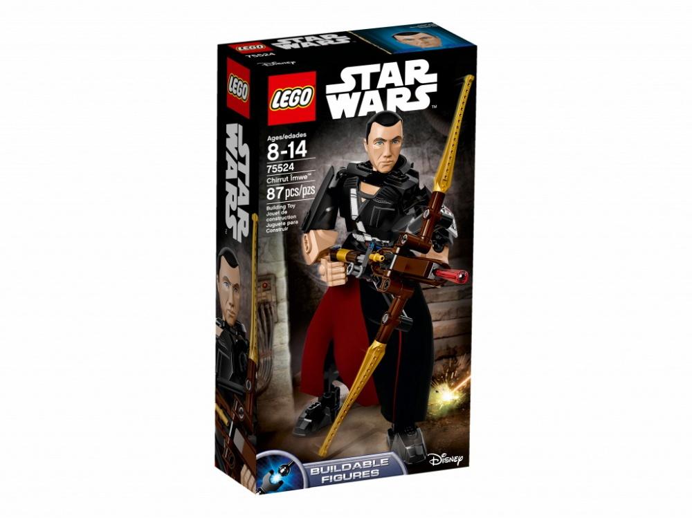 Конструктор Lego Star Wars Чиррут ИмвеСлепота не мешает воину-монаху умело сражаться с Империей. Построй сбрную фигуру, придумай для неё боевую позу, возьми в руки арбалет, заряди оружие и приготовься к бою. Империи стоит опасаться этого решительного бойца.Информация о набореАртикул: 75524Производитель: LEGOКол-во деталей: 87Фигурок: 0Год выпуска: 2017<br>