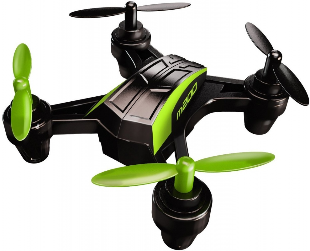 Квадрокоптер Sky Viper m200 Нано ДронКвадрокоптер Sky Viper m200 Nano Drone от известной американской компании Skyrocket представляет собой ультрасовременный нано-дрон миниатюрных размеров, выполненный в стильной черно-зеленой расцветке. Радиоуправляемая модель работает от мощного аккумулятора, а для пульта дистанционного управления используются стандартные мизинчиковые батарейки. Для подзарядки устройства применяется стандартный USB-кабель, также входящий в комплект. Размер начального коптера Скай Вайпер м200 составляет всего лишь 7 см.Нанодрон Sky Viper m200 Nano Drone марки Skyrocket оснащен 4 пропеллерами. Управление моделью осуществляется посредством мини-контроллера. Малые вес и размер изделия обеспечивают ему максимальную маневренность во время полета. Кроме того, игрушка умеет выполнять бочку в любом направлении! Коптер оборудован современным акселерометром, а также 6-осевым гироскопом. Он поддерживает 2 режима игры: для новичков, предназначенный для детей, которые только знакомятся с миром квадрокоптеров; а также для опытных пользователей.Высокопрочный корпус нано-дрона Sky Viper m200 Nano Drone бренда Skyrocket изготовлен из металла и пластика. Гармоничное сочетание этих материалов позволило производителю добиться не только большого запаса прочности и устойчивости модели к разного рода механическим повреждениям, но и эстетичного внешнего вида. Цельный корпус игрушки выглядит действительно футуристично, живо вызывая в памяти летающих дронов из фантастических кинофильмов. Использовать СкайВайпер м200 можно как на улице, так и в помещении.<br>