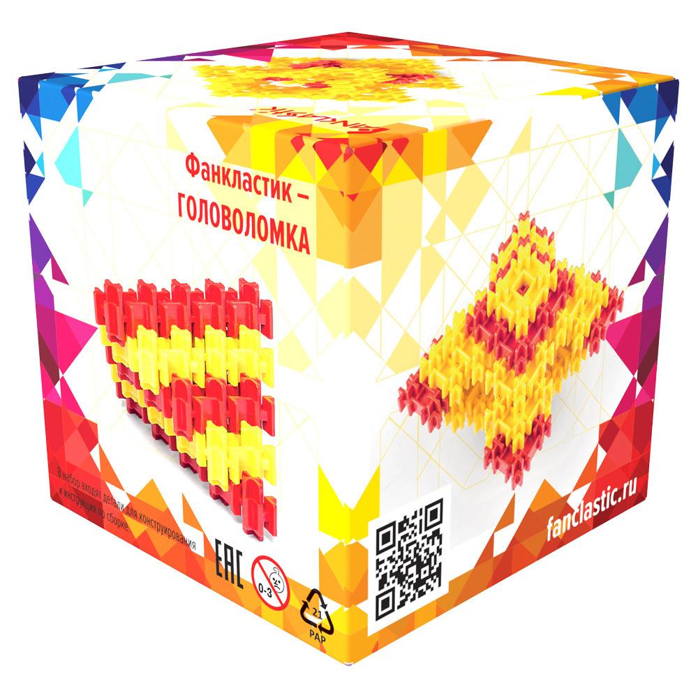 Конструктор Фанкластик ГоловоломкаЧто получится собрать быстрее – Куб или Кварту? Сколько вариантов сборки существует для Зигзага и Фанта? Что проще – Портал или Призма, сколько граней имеет Кристалл и можно ли считать Триангл пирамидой?Соберите каждую из восьми моделей «Головоломки», и вы узнаете ответы на эти вопросы. Можно устроить соревнование с другом на время или придумать свою собственную головоломку – наверняка возможности набора не исчерпываются конструкциями, изображенными на фотографиях. Ощутите фактуру элементов Фанкластик, оцените прочность соединений и простоту сборки, почувствуйте себя создателем увлекательных безделушек, развивающих ум и сообразительность.Для кого-то набор «Головоломка» покажется слишком сложным, для кого-то простым, но в любом случае вы потратите своё время с пользой – ведь ничто не радует человека разумного больше, чем разгадка хитроумных секретов!«Головоломка» является самым компактным набором Фанкластик, который удобно взять с собой в дорогу или в гости к друзьям, увлекающимся решением непростых задач. Кроме того, моделям «Головоломки» можно найти оригинальные применение в составе конструкций из других наборов Фанкластика.<br>