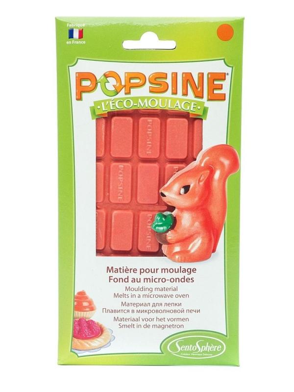 Дополнительный набор для творчества POPSINE 110 г, оранжевый наборы для лепки sentosphere дополнительный набор для творчества popsine 110 г