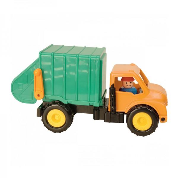 Машинка Battat Грузовик-мусоровоз грузовик самосвал battat 68023
