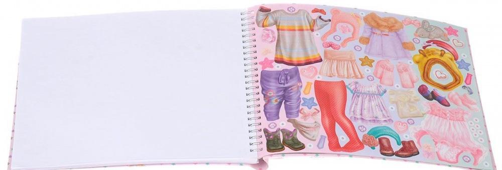 TOPModel Kids Fashion раскраска декопир лист в хабаровске