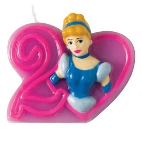 Объемная свечка Принцессы Дисней - Золушка, 2 годаСвечка с объемным изображением Золушки украсит торт на день рожденья юной поклонницы диснеевских мультфильмов. На свечке изображена цифра 2, поэтому ее можно использовать, как на 2 года, так и на 12, соединив с другой свечкой серии. Фигурка Золушки объемна, как и сама цифра, качественно и аккуратно проработана.Возраст: от 2 летГерой: Принцессы ДиснеяДля девочекРазмер упаковки: 13.7 х 9.7 х 2.2 см.<br>