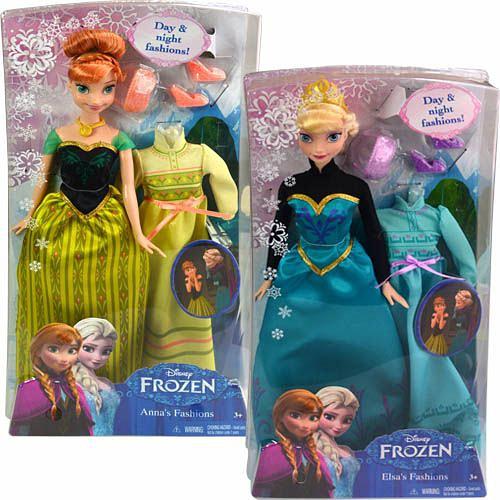 Кукла Анна и Эльза Mattel Disney Princess mattel храбрая сердцем с фигурками трансформерами принцессы disney