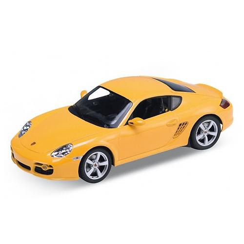 Модель машины PORSCHE CAYMAN S, 1:34-39Welly 42374 Велли Модель машины 1:34-39 PORSCHE CAYMAN SКоллекционная модель машины масштаба1:34-39 PORSCHE CAYMAN S. Функции: открываются передние двери, инерционный механизм.Цвет кузова автомобиля представлен в ассортименте. Выбрать определенный цвет заранее не представляется возможным.<br>