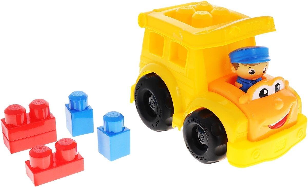 Mega Bloks First Builders Школьный автобус Сонни