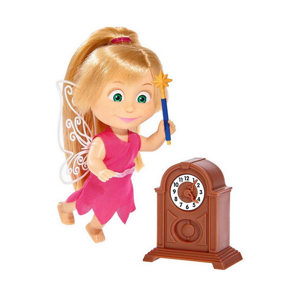 Кукла Маша в костюме феи с аксессуарами, 12 смОбворожительная кукла Маша в костюме феи сможет подружиться с любой девочкой, которая является поклонницей знаменитого мультика Маша и Медведь. Героиня популярного мультфильма предстала в новом образе, но неизменным осталось ее очарование, благодаря которому она и снискала любовь многих детишек. У нее миловидное личико с выразительными глазками, а волосы этой малышки можно расчесывать. В комплекте можно найти часики, а также сладости, которые так любит эта маленькая фея.<br>