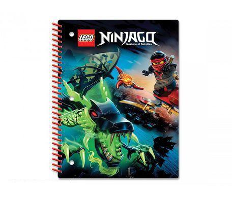 Тетрадь на спирали (70 листов, линейка) LEGO Ninjago (Ниндзяго), размер 20,3х26,6см (51627)Тетрадь на спирали LEGO Ninjago состоит из 70 листов качественной и плотной бумаги. Надежная обложка сохранит товарный вид изделия надолго, даже если ребенок будет использовать ее ежедневно. Яркое оформление понравится детям, и даже взрослым, а удобный размер специально предназначен для того, чтобы носить тетрадь с собой в школу в рюкзаке или сумке.Низкая цена в сочетании с отличным качествомМагазин Hamleys известен по всему миру благодаря своим привлекательным условиям для покупки. Огромный выбор, привлекательные цены и высокое качество изделий приятно удивят покупателей. Подробное описание товаров, их фотографии и отзывы помогают выбрать товар даже на расстоянии и не ошибиться.Магазин Hamleys предлагает удобную доставку в любой регион России с оплатой наложенным платежом. А для Санкт-Петербурга, Москвы и области действует система курьеров, которые доставят изделие по любому указанному адресу. Оплатить тетрадь на спирали Лего Ниндзяго можно банковской картой или наличными.<br>