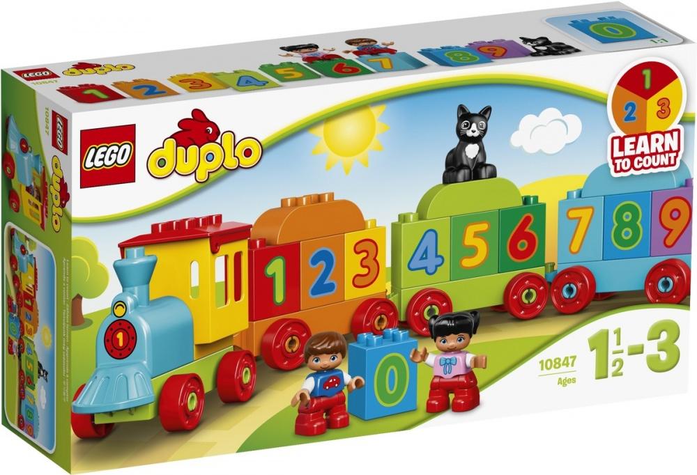 """Купить со скидкой Конструктор Lego Duplo Поезд """"Считай и Играй"""""""
