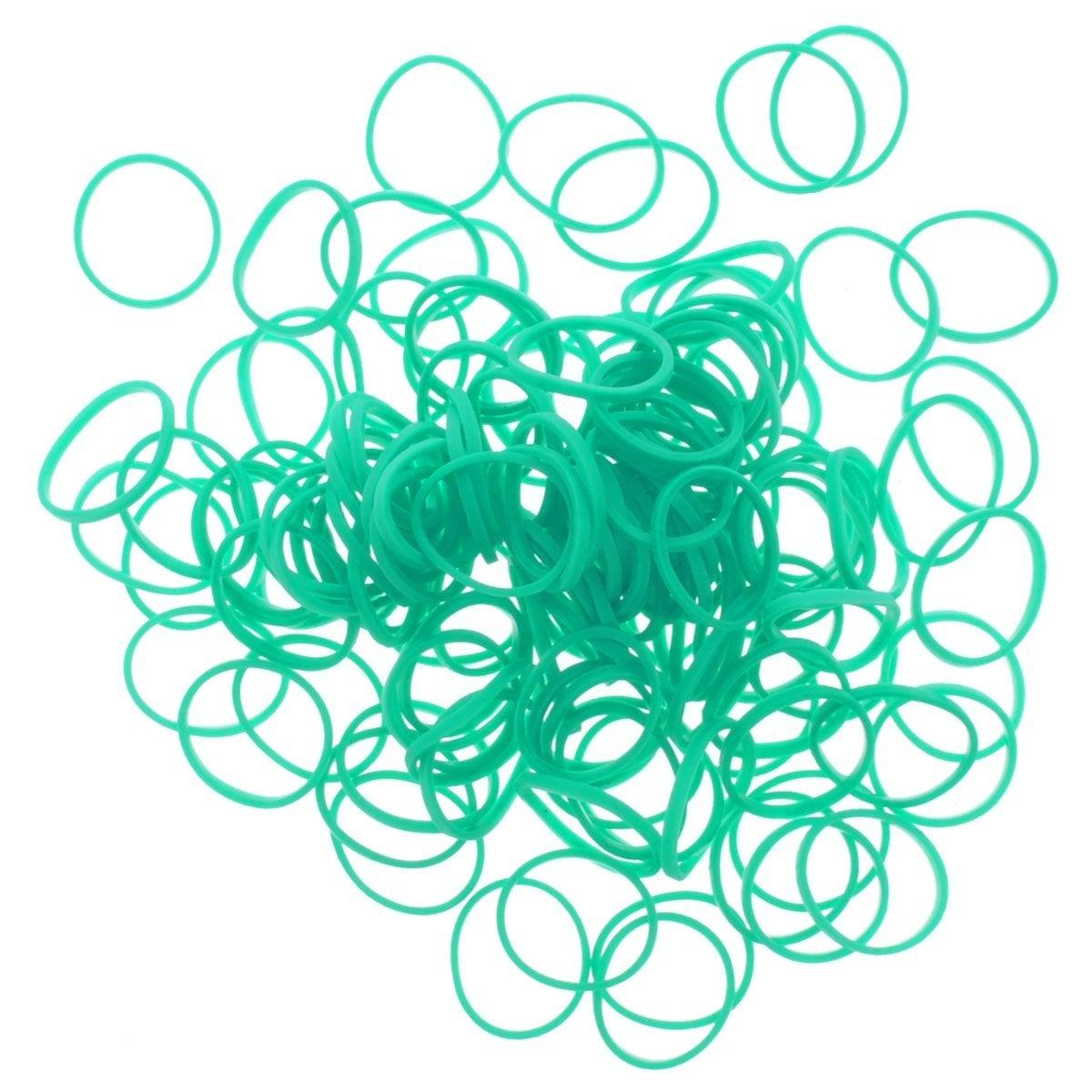 Резиночки - Сине-зелёный Solid Bands - Teal 1 набор для творчества diy резиночки для плетения слоник