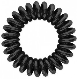 Резинка для волос Beauty Bar, черная резинка спиралька для волос