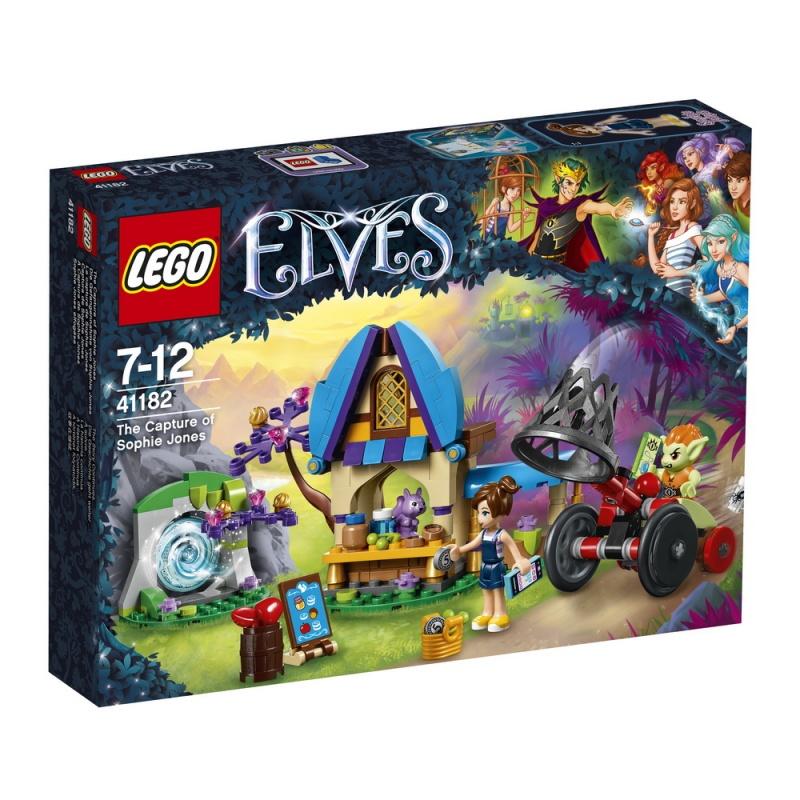 Конструктор Lego Elves 41182 Похищение Софи Джонс бельчонок софи или осторожно драконы