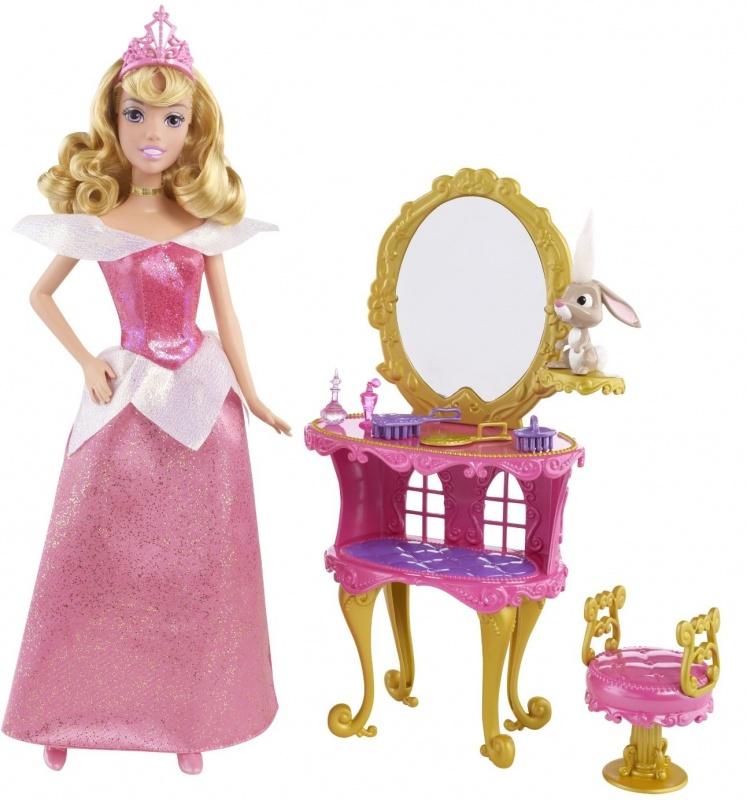 Набор Mattel Disney Princess Принцесса в спальне, кухне mattel храбрая сердцем с фигурками трансформерами принцессы disney