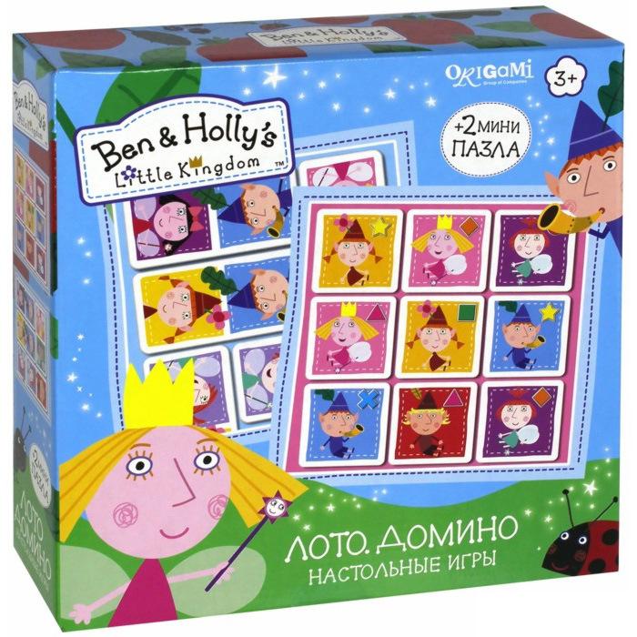 Ben & Holly.Наст.игра.2в1.Лото, Домино.02958 игра для ps3 ben 10 omniverse