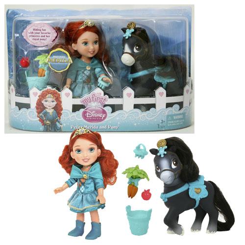 """Купить со скидкой Кукла """"Принцессы Дисней - Малышка с конем"""" 15 см."""