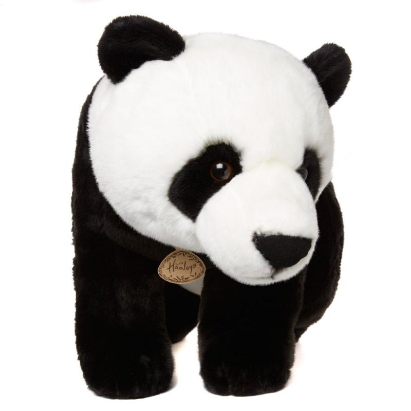 Игрушка плюшевая Большая пандаHamleys представляет больший друзей из джунглей. Эта красивая Панда изготовлена из лучших качественных материалов с особым вниманием к деталям.<br>