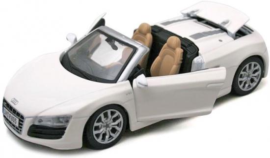 Машина Audi R8 Spyder 1:24 автомобиль welly audi r8 v10 1 24 белый 24065