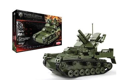 Zormaer Конструктор Танк M7 Priest 65222