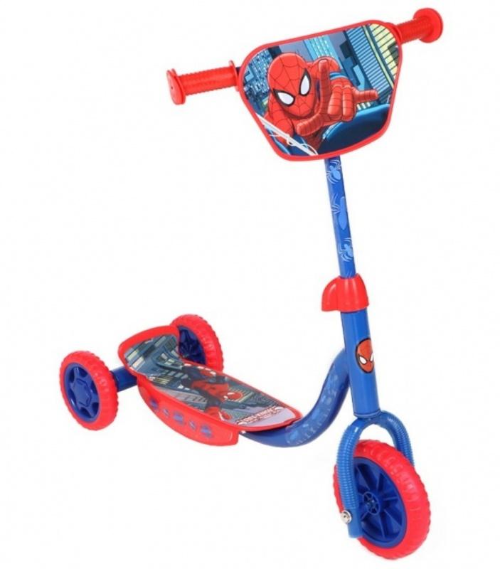 """Купить со скидкой Трехколесный самокат Marvel """"Человек-паук"""""""