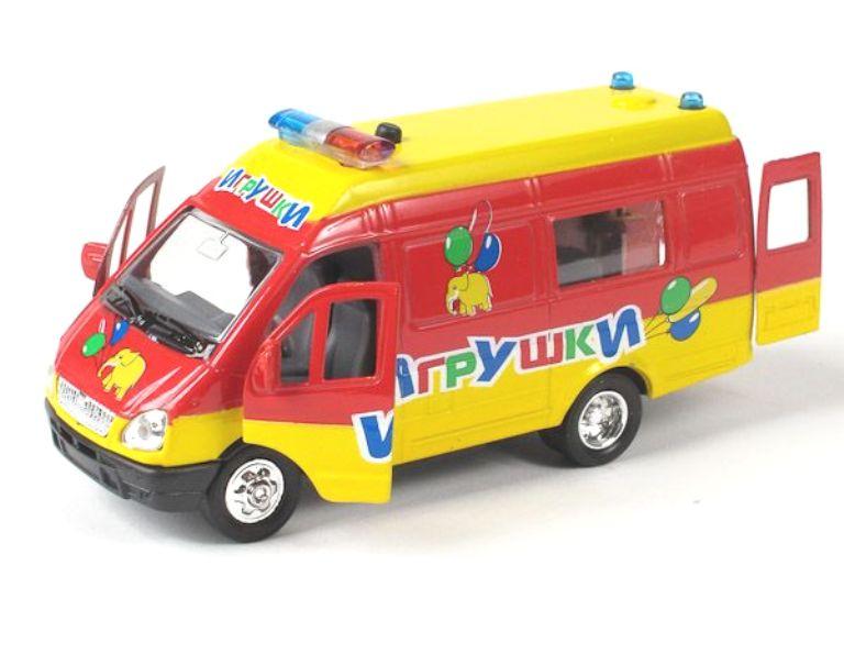 Модель автомобиля ГАЗель - Игрушки (свет, звук) купить газель б у в москве дизель