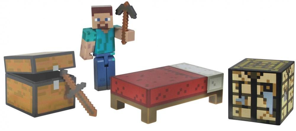 Набор для выживания Jazwares Minecraft все для дома