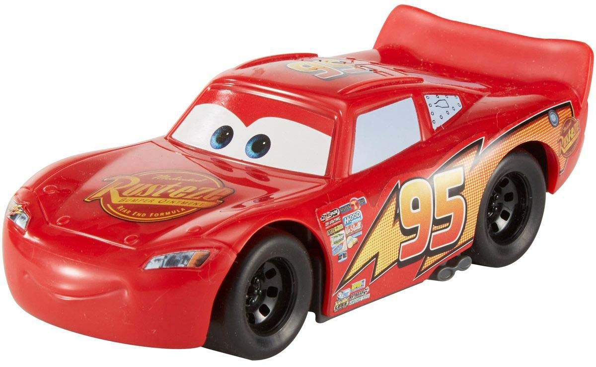 Ассортимент больших машинок (пластик)Машинка Тачки 3 от компании Mattel порадует мальчиков, ведь каждый из них является поклонником одноименного мультсериала. Игрушечная машинка повторяет дизайн своего прототипа - персонажа историй о жизни и приключениях забавных тачек. Машинка изготовлена из качественной пластмассы. Она способна выдержать нагрузку, создаваемую весом малыша на машинку во время игры. У машинки отлично крутятся колеса.Ребенку будет приятно получить в подарок красочную игрушку, которая окунет его в атмосферу веселых гонок и приключений.<br>
