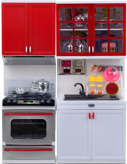Набор мебели для кукол DollyToy Стильная кухня