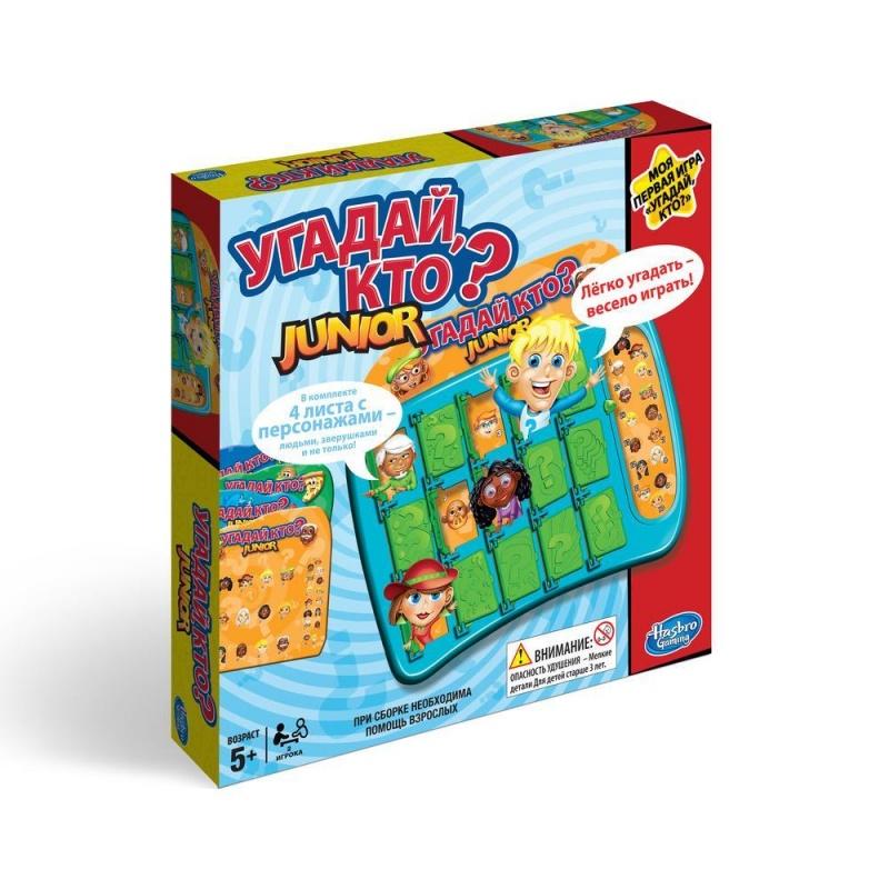Угадай, кто? Моя первая играУпрощенная версия популярной игры на развитие логики для начинающих игроков. Угадай таинственного персонажа своего соперника! Все персонажи из популярных детских мультфильмов.<br>