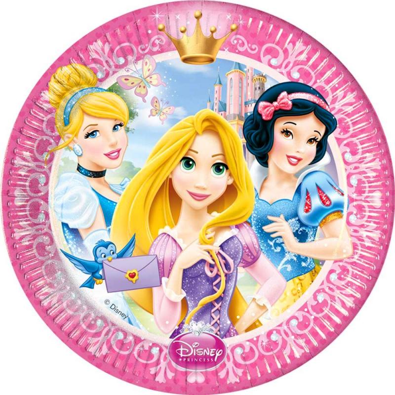 Тарелки Принцессы Disney 23см 8штНикакой детский праздник не обходится без тематической вечеринки. В настоящее время так много аксессуаров, которые позволяют полностью погрузить в атмосферу героев, в чьем стиле украшен праздник. Тарелки Принцессы Диснея обязательно порадуют вашу малышку. Изготовлены из качественных материалов, которые абсолютно безопасны для детей. Яркие и красочные тарелочки Принцессы Диснея станут отличным дополнением к детской вечеринке.<br>