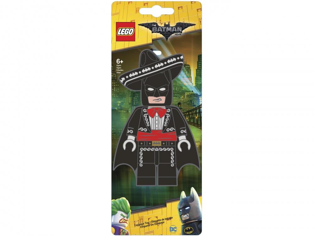 Lego Batman Movie Бирка для багажа Mariachi BatmanБирка для багажа для настоящего фаната серии Batman Movie.<br>