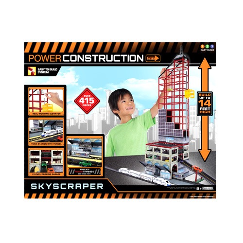 Power Construction Небоскреб, паркинг, ж/д станция