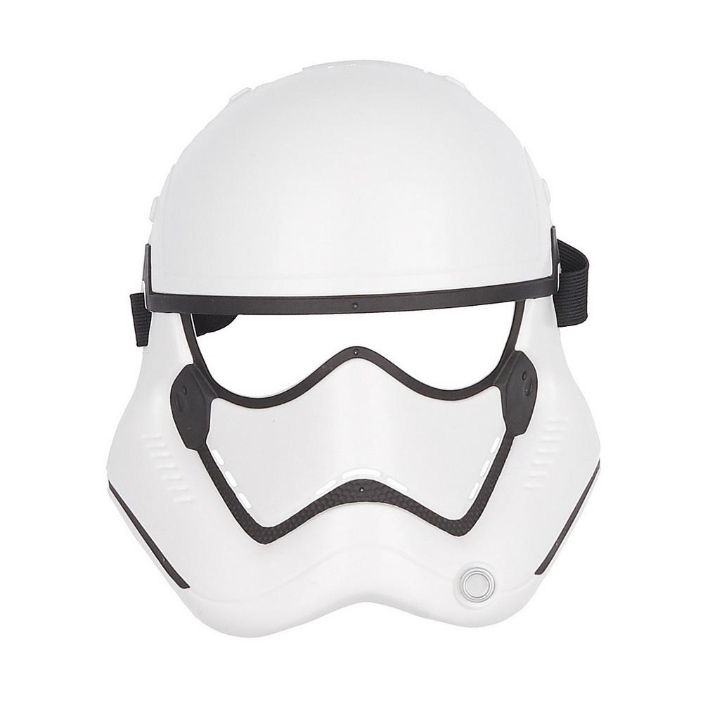 Маска героя вселенной Звездные Войны эпизод 8Маска героя вселенной Звездные Войны станет приятным сюрпризом для вашего ребенка, особенно если он является поклонником популярной фантастической киносаги Star Wars. Маска поможет ребенку представить себя участником великих сражений и погрузиться с друзьями в увлекательный игровой процесс. Игрушка из прочного качественного пластика выполнена очень реалистично, все детали тщательно проработаны. Маска комфортно фиксируется с помощью удобных мягких ремешков, которые можно отрегулировать до нужного размера.<br>