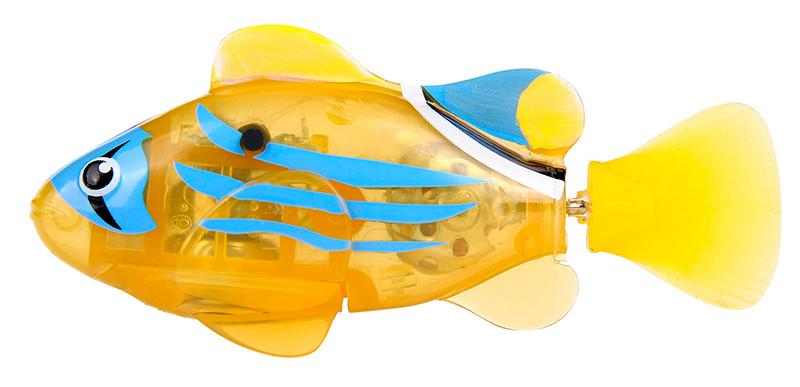 Светодиодная РобоРыбка Желтый фонарьИнновационная высокотехнологичная игрушка. Активируется в воде. Имитирует движения и повадки рыбы. Электромагнитный мотор позволяет рыбке двигаться в 5 направлениях. При погружении в аквариум или другую емкость с водой, РобоРыбка начинает плавать, опускаясь ко дну и поднимаясь к поверхности воды. Новинка 2014! Светодиодные рыбки, которые при соприкосновении с водой начинают не только плавать, но и светиться. В целях экономии энергии рыбка автоматически отключается через 4 минуты. Для активации, рыбки вытащите ее из воды на несколько секунд и запустите снова в воду.<br>