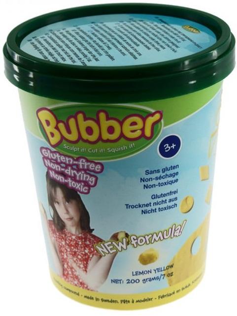 Масса для лепки Waba Fun Bubber, 200 гр, желтая песочница надувная waba fun