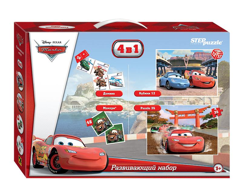 Купить Развивающий набор 4в1 Тачки (Disney)
