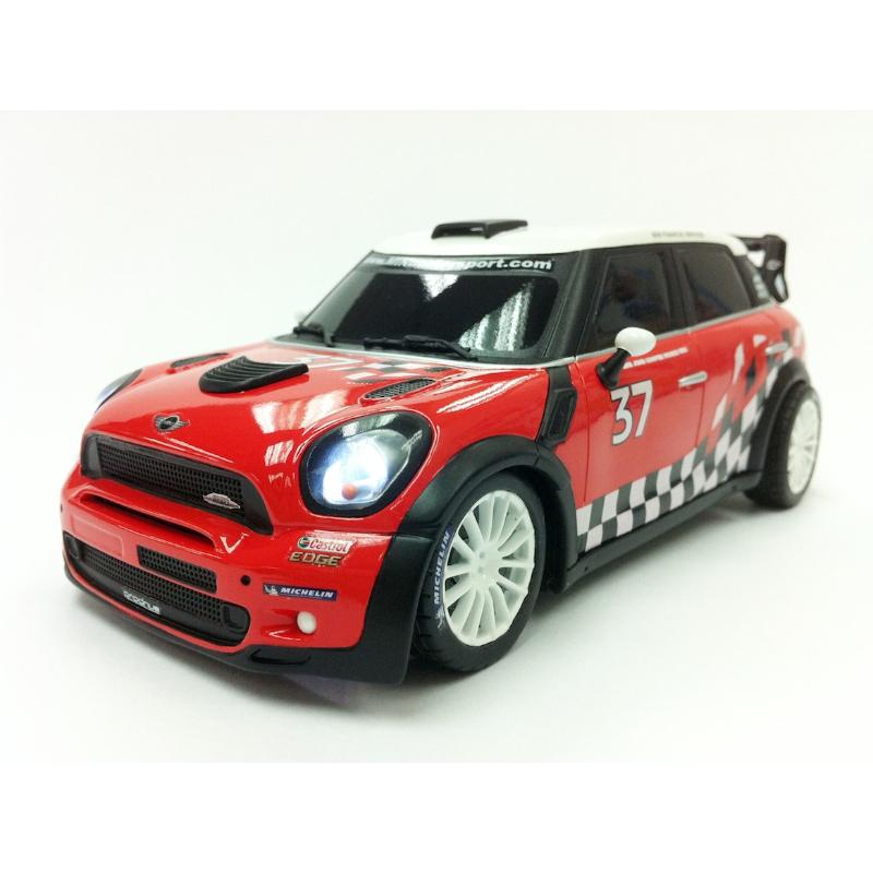 Купить Радиоуправляемая машина Mini Countryman WRC (на бат, свет), 1:16