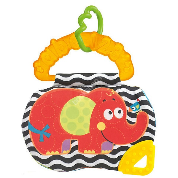 Playgro Книжка Слоник0182369 playgro мягкая игрушка слоник 102827