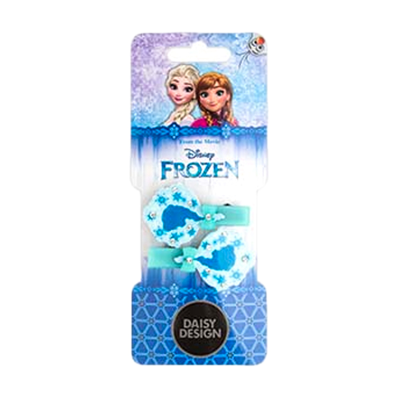 Заколка для волос Frozen СилуэтДве заколки для волос Силуэт – прекрасный аксессуар для юной фанатки мультипликационного фильма Холодное Сердце. В набор входят две заколки нежно-голубого цвета со стразами. Их можно использовать для создания такой же прически, как у Эльзы. Заколки выполнены в холодном стиле, они станут отличным дополнением к образу маленькой принцессы.<br>
