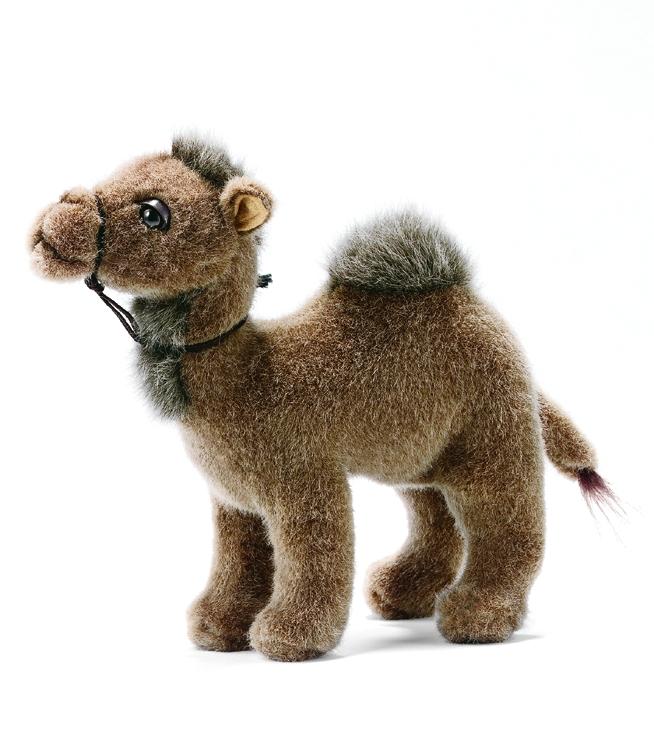 Верблюд, 22 см интерактивные игрушки hansa верблюд 110 см